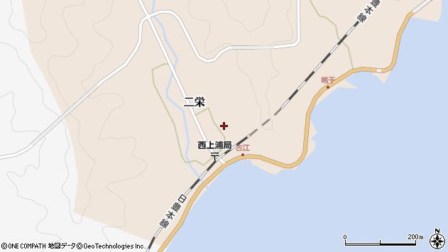 大分県佐伯市二栄637周辺の地図