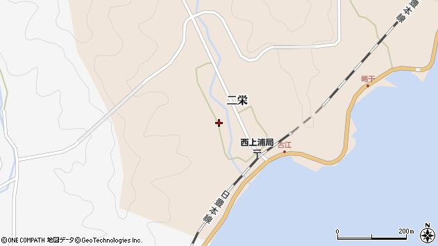 大分県佐伯市二栄1233周辺の地図