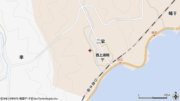 大分県佐伯市二栄1240周辺の地図
