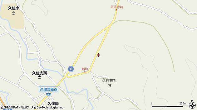 大分県竹田市久住町大字久住6442周辺の地図