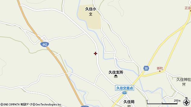 大分県竹田市久住町大字久住3472周辺の地図