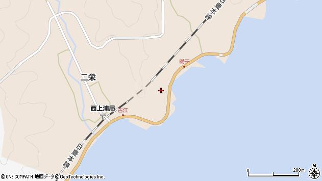 大分県佐伯市二栄564周辺の地図
