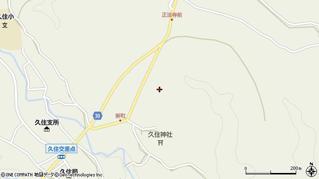 大分県竹田市久住町大字久住6455周辺の地図