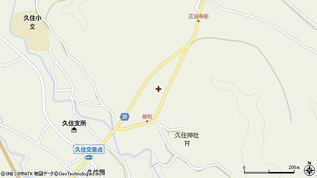 大分県竹田市久住町大字久住6420周辺の地図