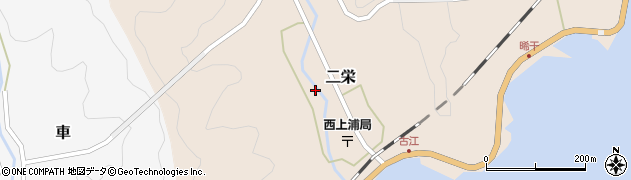 大分県佐伯市二栄1243周辺の地図