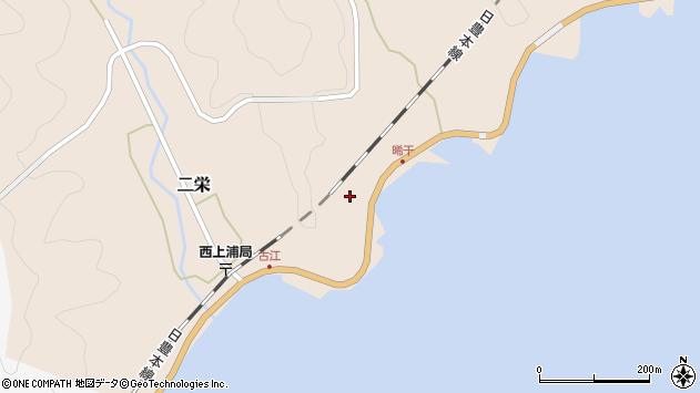 大分県佐伯市二栄560周辺の地図