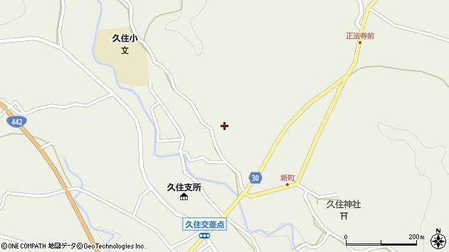 大分県竹田市久住町大字久住2801周辺の地図