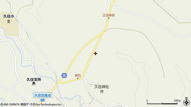 大分県竹田市久住町大字久住6445周辺の地図