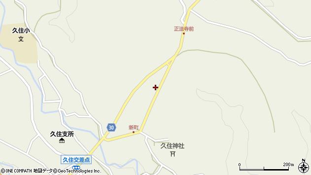 大分県竹田市久住町大字久住6413周辺の地図