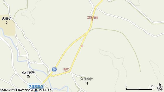 大分県竹田市久住町大字久住6447周辺の地図