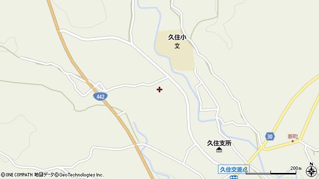 大分県竹田市久住町大字久住3468周辺の地図