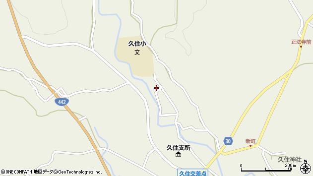 大分県竹田市久住町大字久住2856周辺の地図
