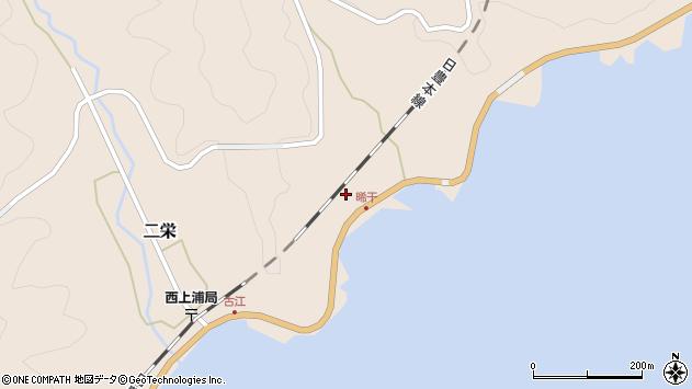 大分県佐伯市二栄521周辺の地図