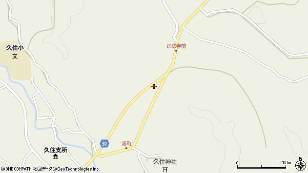 大分県竹田市久住町大字久住6410周辺の地図
