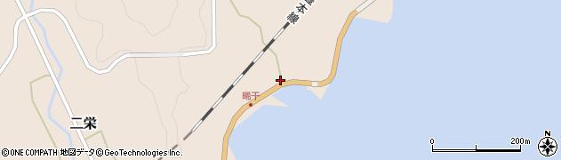 大分県佐伯市二栄390周辺の地図