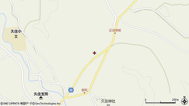 大分県竹田市久住町大字久住6402周辺の地図