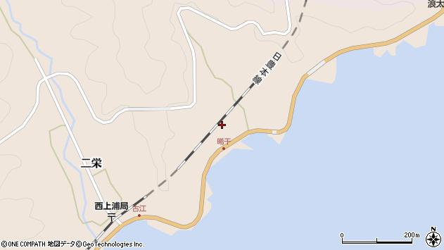 大分県佐伯市二栄452周辺の地図