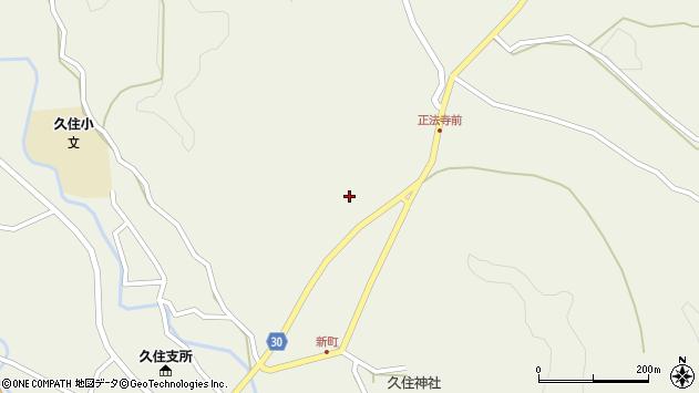 大分県竹田市久住町大字久住6399周辺の地図