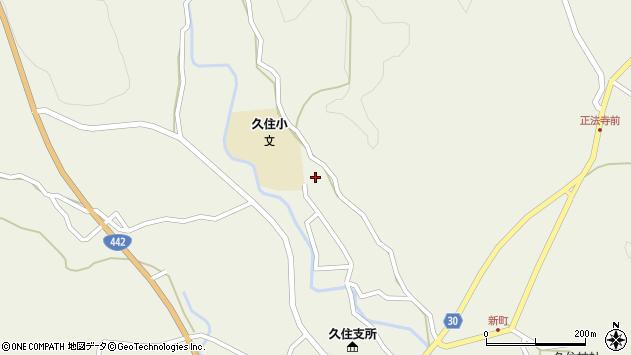 大分県竹田市久住町大字久住2828周辺の地図