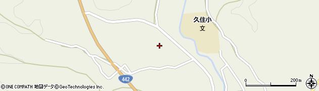 大分県竹田市久住町大字久住3482周辺の地図