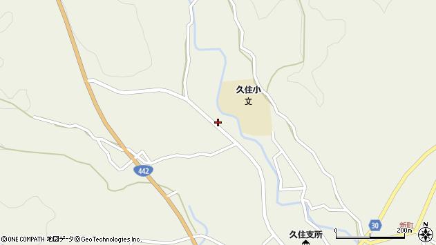 大分県竹田市久住町大字久住3441周辺の地図