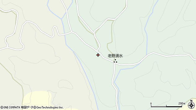 大分県竹田市久住町大字栢木159周辺の地図