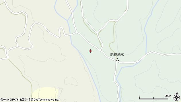 大分県竹田市久住町大字栢木168周辺の地図