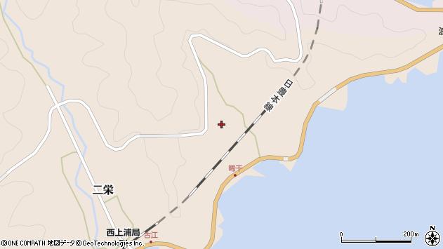 大分県佐伯市二栄晞干周辺の地図