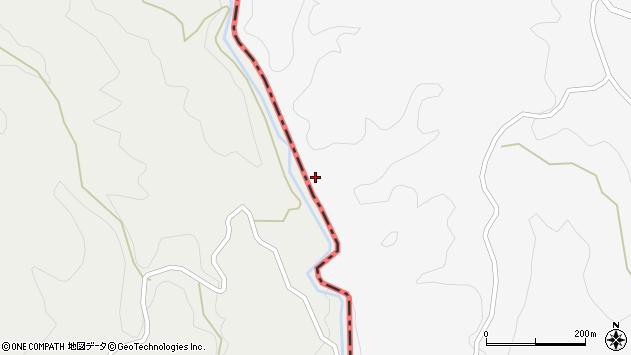 大分県竹田市久住町大字白丹7595周辺の地図