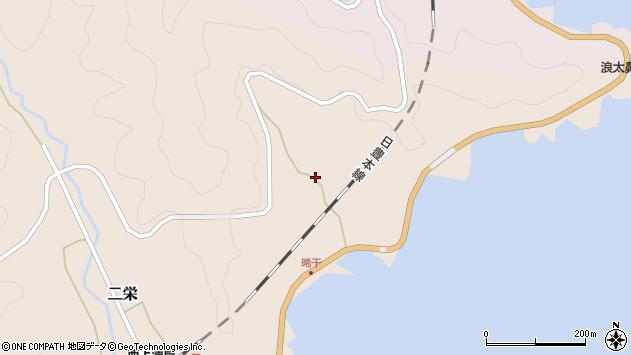 大分県佐伯市二栄393周辺の地図