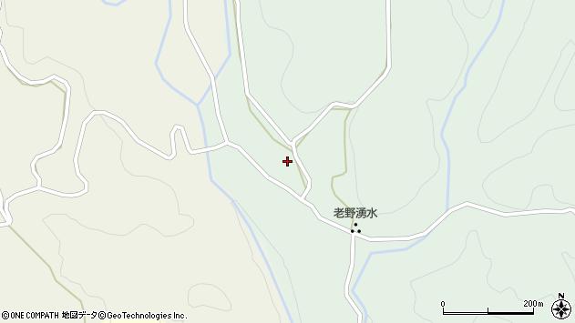 大分県竹田市久住町大字栢木189周辺の地図