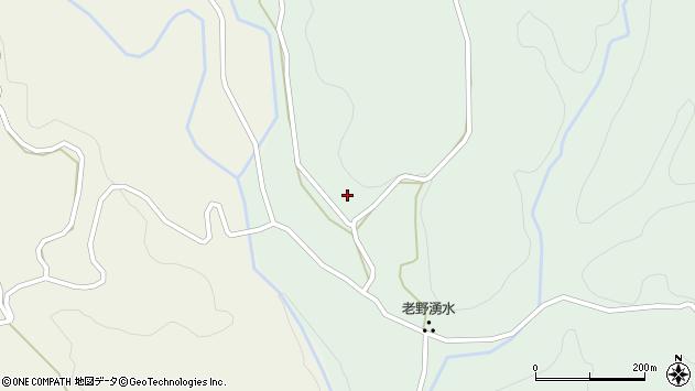 大分県竹田市久住町大字栢木235周辺の地図