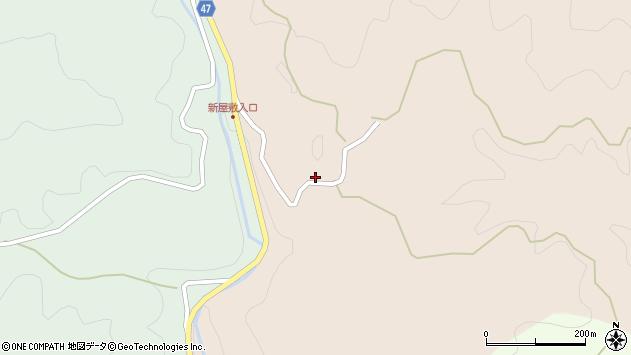 大分県竹田市直入町大字長湯1607周辺の地図