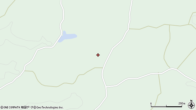 大分県竹田市久住町大字栢木3802周辺の地図