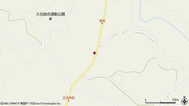 大分県竹田市久住町大字久住7652周辺の地図