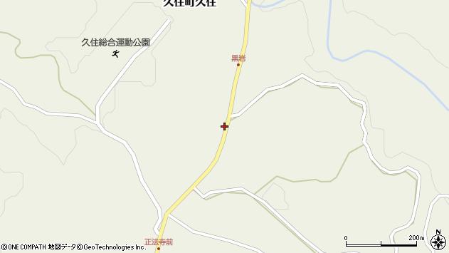 大分県竹田市久住町大字久住7653周辺の地図