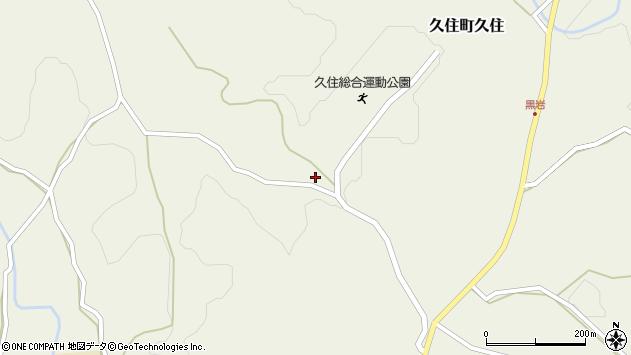 大分県竹田市久住町大字久住2716周辺の地図