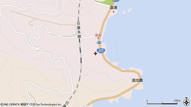 大分県佐伯市上浦大字浅海井浦3757周辺の地図