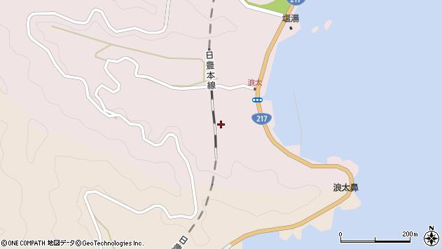 大分県佐伯市上浦大字浅海井浦3638周辺の地図