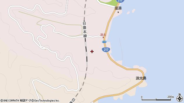 大分県佐伯市上浦大字浅海井浦3714周辺の地図