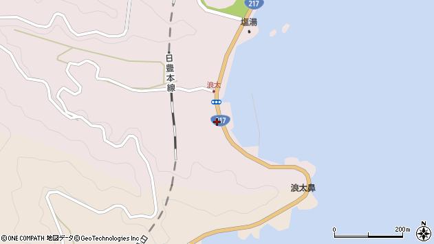 大分県佐伯市上浦大字浅海井浦3758周辺の地図