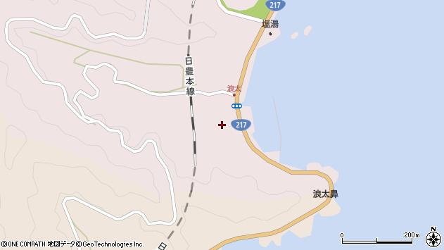 大分県佐伯市上浦大字浅海井浦3622周辺の地図