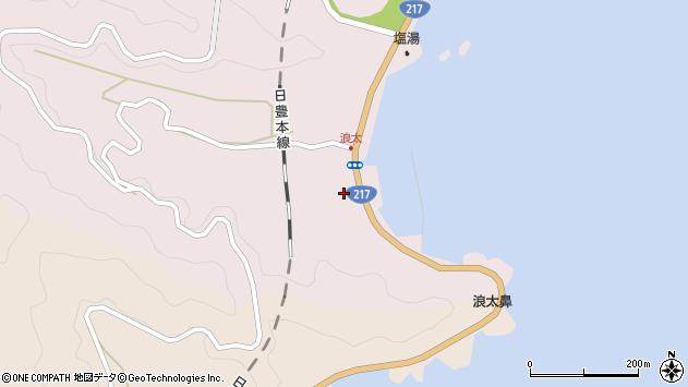大分県佐伯市上浦大字浅海井浦3619周辺の地図