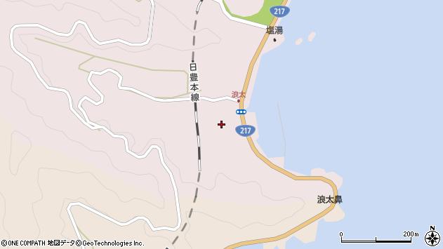 大分県佐伯市上浦大字浅海井浦3626周辺の地図