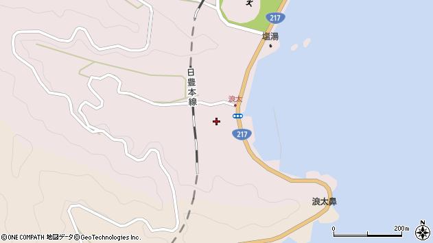 大分県佐伯市上浦大字浅海井浦3605周辺の地図
