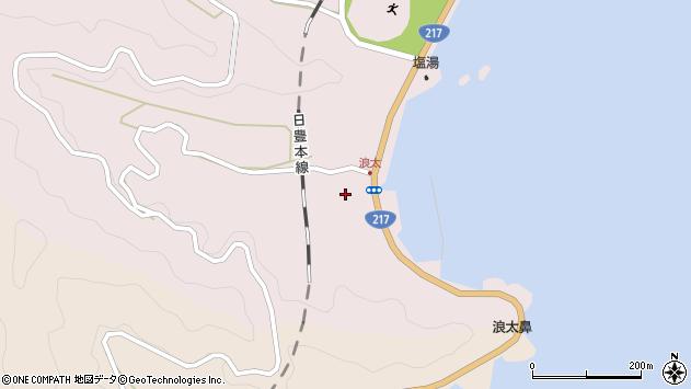 大分県佐伯市上浦大字浅海井浦3612周辺の地図