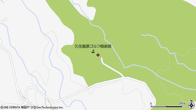 大分県竹田市久住町大字白丹3866周辺の地図