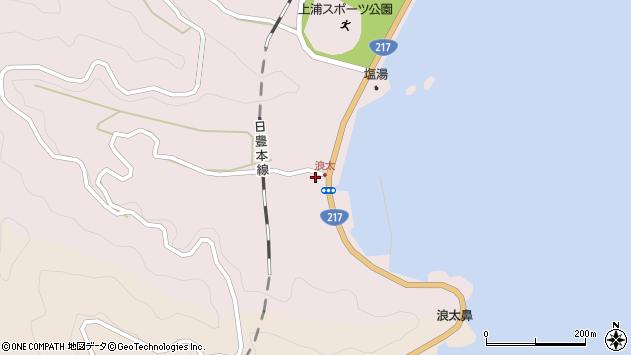 大分県佐伯市上浦大字浅海井浦3569周辺の地図