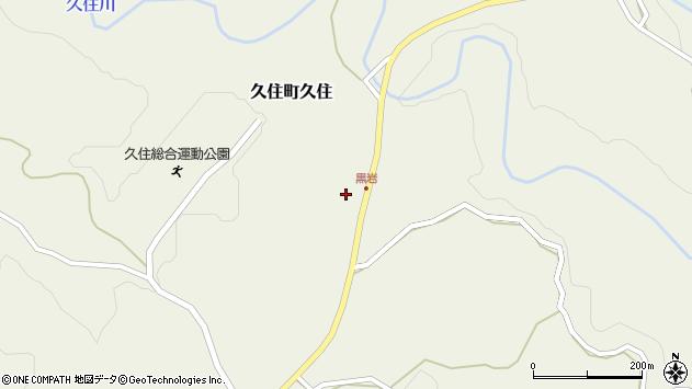 大分県竹田市久住町大字久住7705周辺の地図