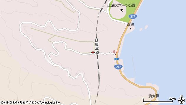 大分県佐伯市上浦大字浅海井浦3479周辺の地図